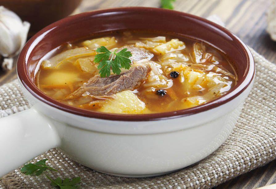 Zuppa di cavolo e patate