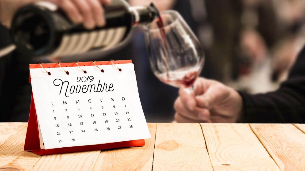 Calendario goloso di Novembre 2019