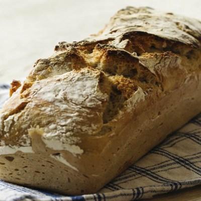 Pane in cassetta senza impasto