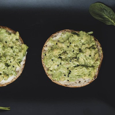 Tartine all'avocado
