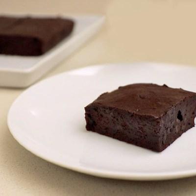 Brownies al gelato