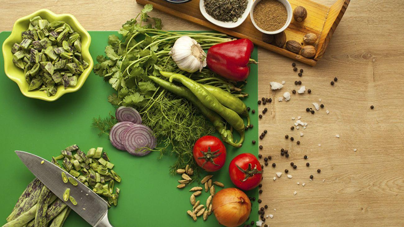 Abbinamenti tra verdura erbe e spezie