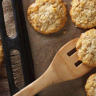 Biscotti al cocco e avena