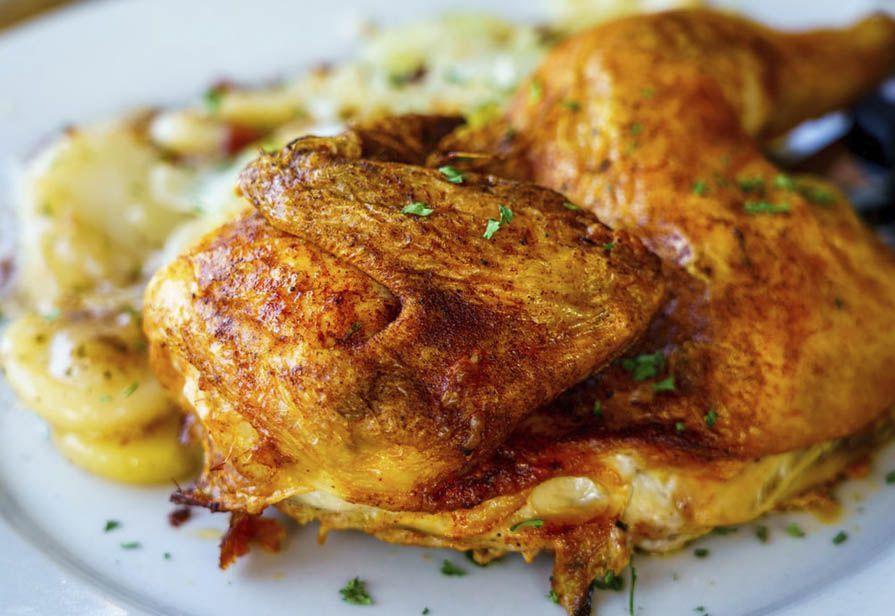 Pollo alla paprica