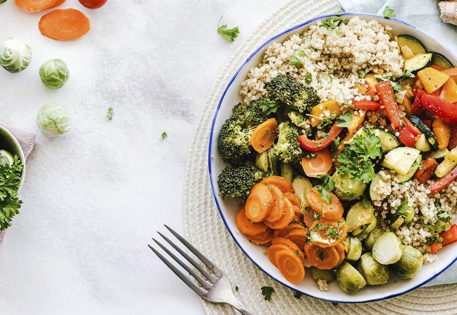 Quinoa e verdure