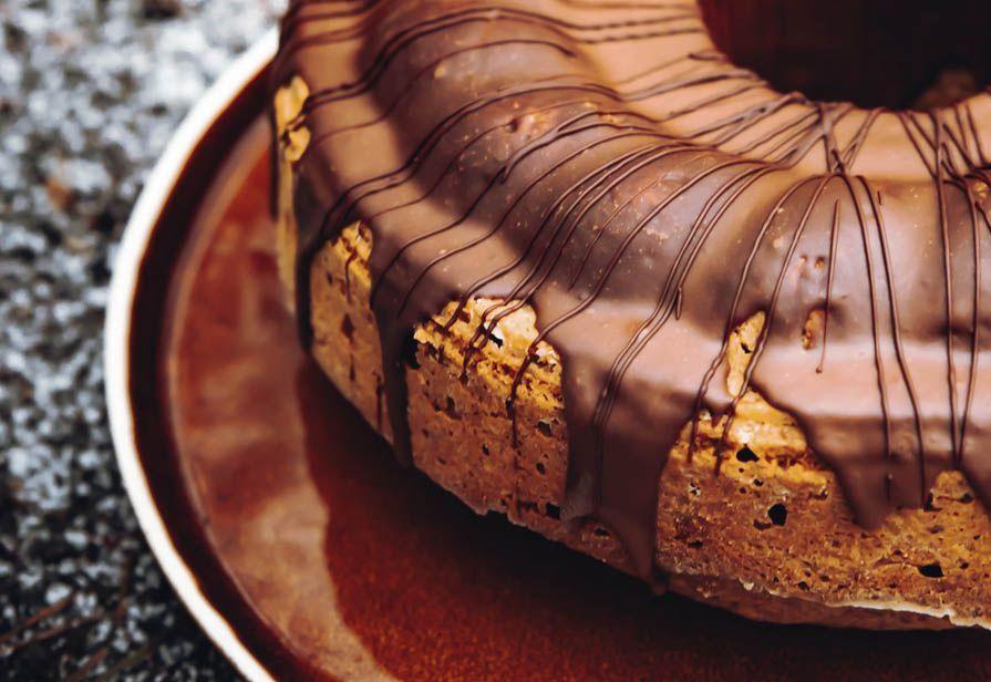 Ciambella integrale al cioccolato