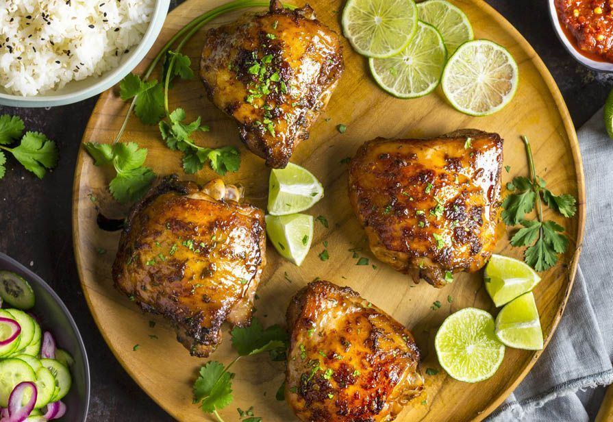 Sovracosce di pollo alla salsa di soia