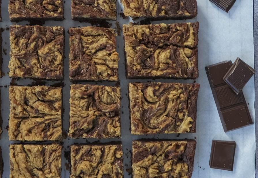 Brownies al burro di arachidi