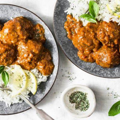 Polpette al curry