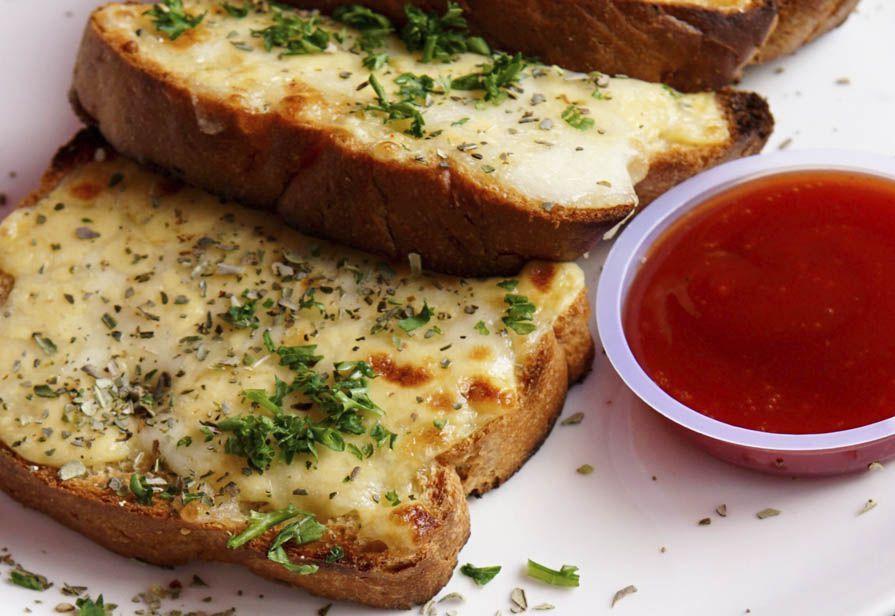 Bruschette al formaggio