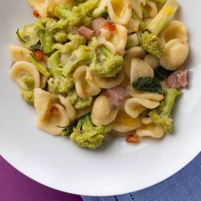 Orecchiette infuocate ai broccoli