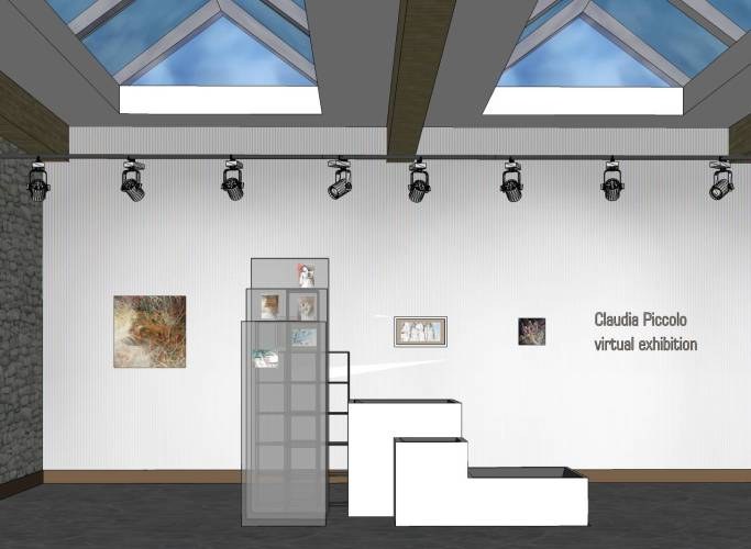 Virtual solo exhibition – Personale d'arte virtuale