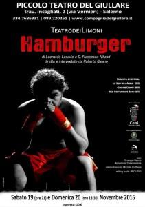 Manifesto HAMBURGER - Piccolo Teatro del Giullare
