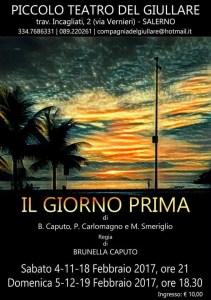 Manifesto E FACIMMECE 'NA RESATA - Piccolo Teatro del Giullare