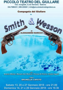 Manifesto SMITH & WESSON - Piccolo Teatro del Giullare