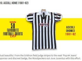 ascoli calcio 1981 maglia pop84
