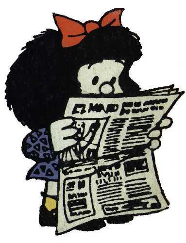 Resultado de imagen de noticias mafalda