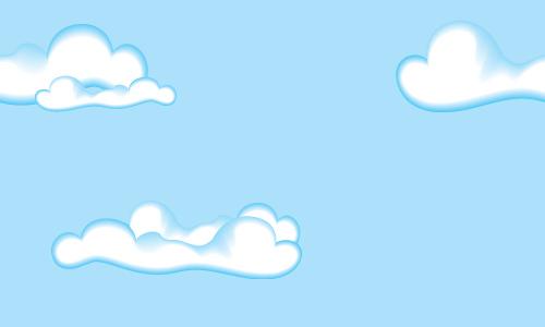 Animaatjes Wolken 96386 Wallpaper