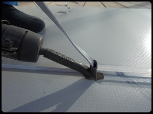 liner armé piscine soudure bandelette