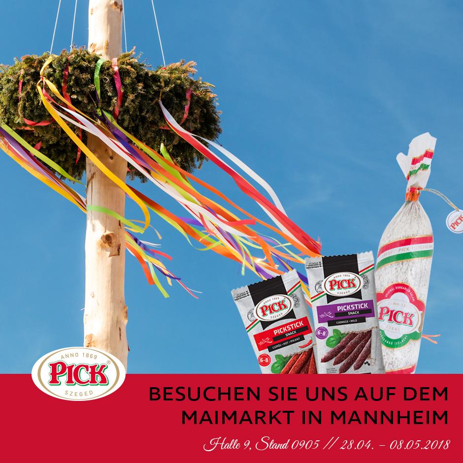 PICK auf dem Maimarkt in Mannheim