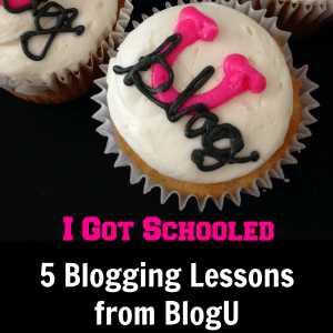 5 Blogging Lessons from BlogU