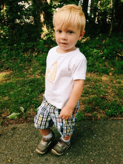 letter to my son on his second birthday
