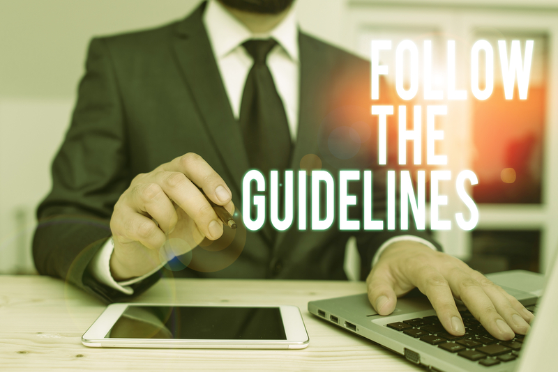 Follow the Google Guidelines