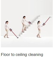Absolute Cord-Free Vacuum for floor cleaning