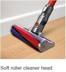 soft roller Absolute Cord-Free Vacuum