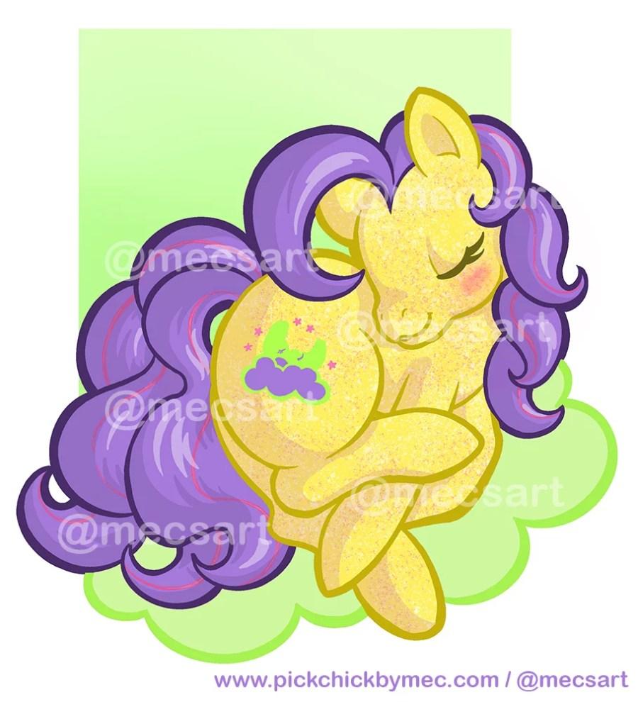 Encargo de ilustración de My little pony Napper