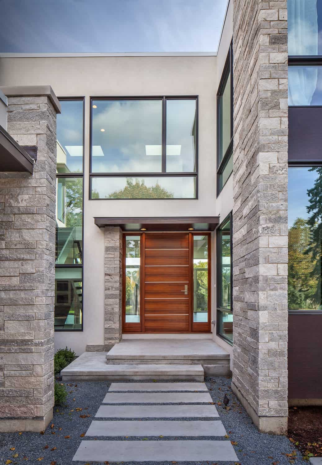 Home (Front & Rear) Elevation Design Ideas / Photo Gallery on Glass House Design Ideas  id=81867