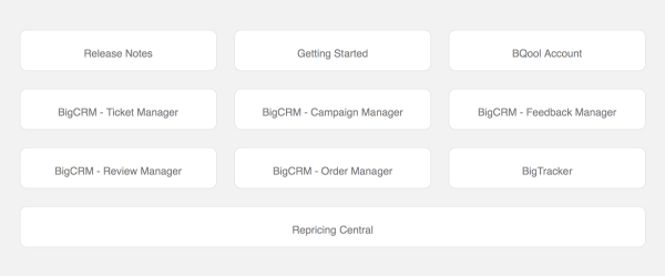 Amazon feedback tools: BQool user interface