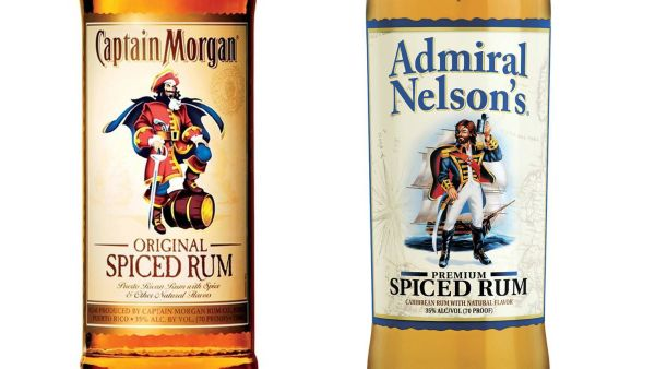Likelihood of confusion: Captain Morgan rum vs Admiral Nelson's rum