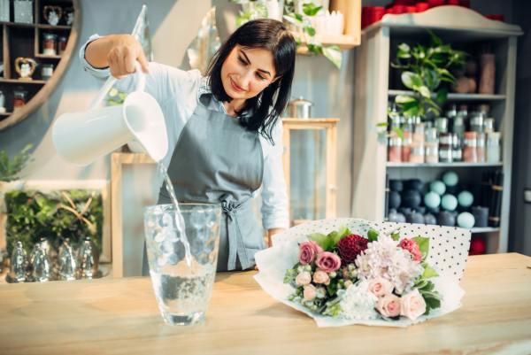 Brand perception: Flower shop owner
