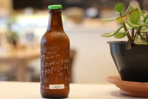 Brand perception: kombucha bottle