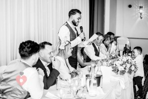 Grooms speech at the four pillars hotel in swindon