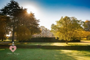 Coombe Lodge wedding venue in autumn Pickin Images Photography