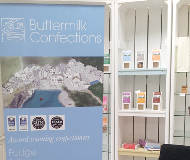 Roller banner design for Buttermilk