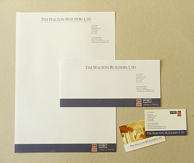 Tim Walton Builders Stationery