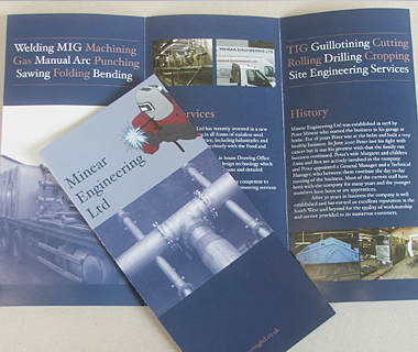 Minear Engineering Leaflet