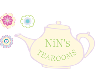 Nin's Tearooms Logo