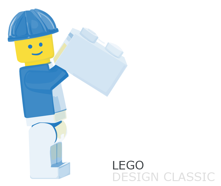 December newsletter with Lego, web and logo design