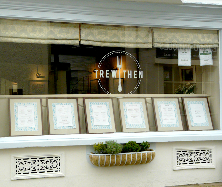 Trewithen Restaurant Window Graphics