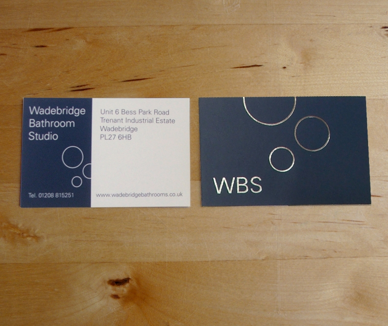 Wadebridge Bathroom Studio business card