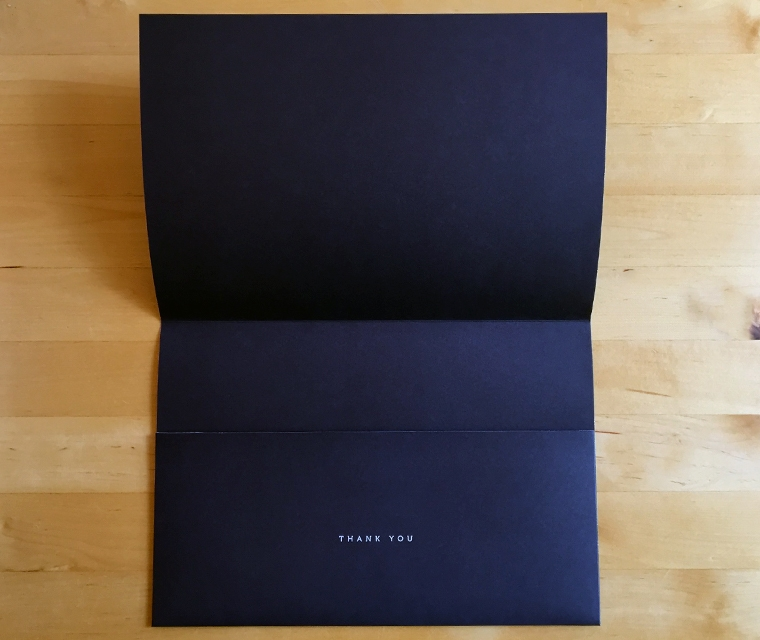 Jo & Co Bespoke envelope