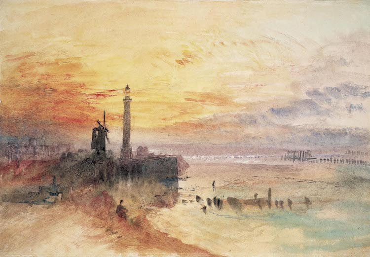 Colourful water colour by artist JMW Turner