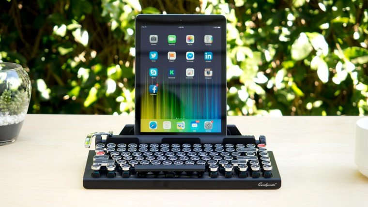 Qwerkywriter - a typewriter that works with modern screens