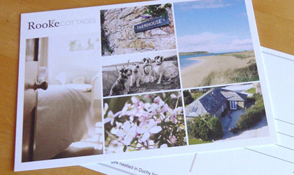 Leaflet design in Cornwall