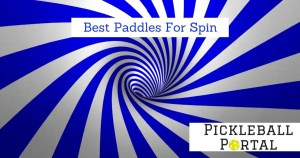 11 Best Pickleball Paddles For Spin (2020 Paddle Reviews)