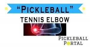 tennis elbow from pickleball